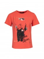 T-shirt estampado denim lover