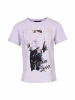 Printed t-shirt denim lover