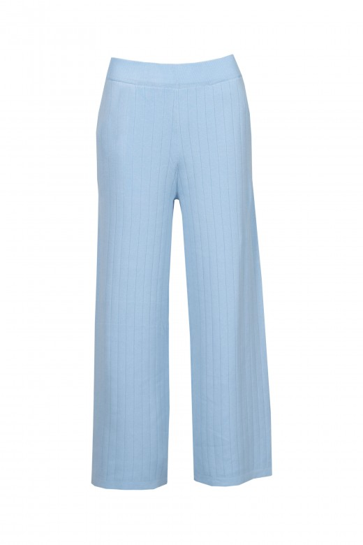 Mesh set with side tie pants cullote