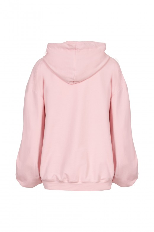 Oversize draped sweater