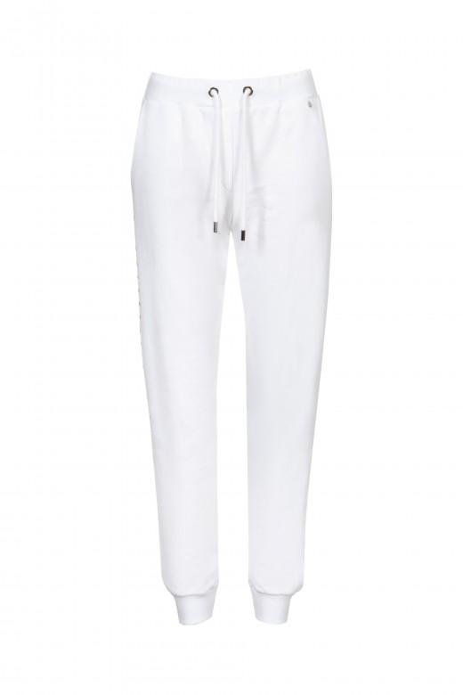 Pantalón jogger con tachuelas