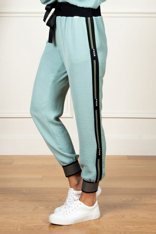 Logo side jogger pants