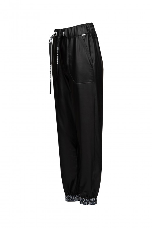 Ecopele jogger pants with cuffs