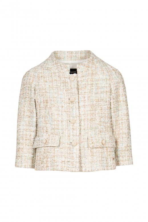 Chanel jacket with pockets
