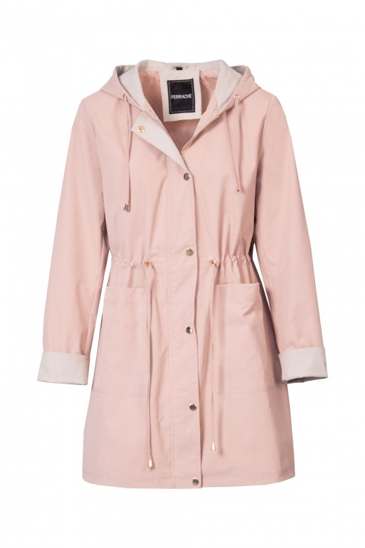 Long waterproof parka