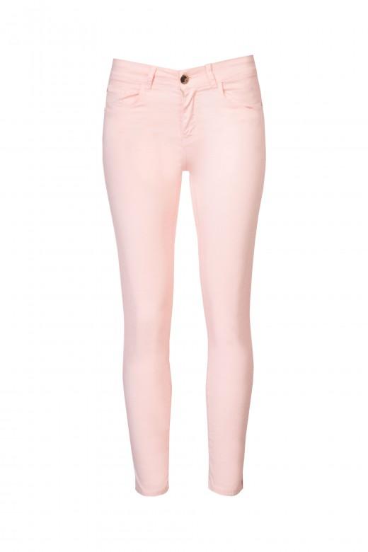 Calça skinny cintura média