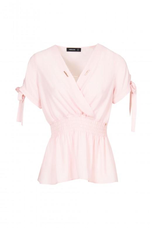 Sleeve tunic with loop