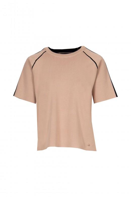 Short sleeve geometric mesh set