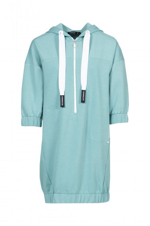 3/4 sleeve sport dress