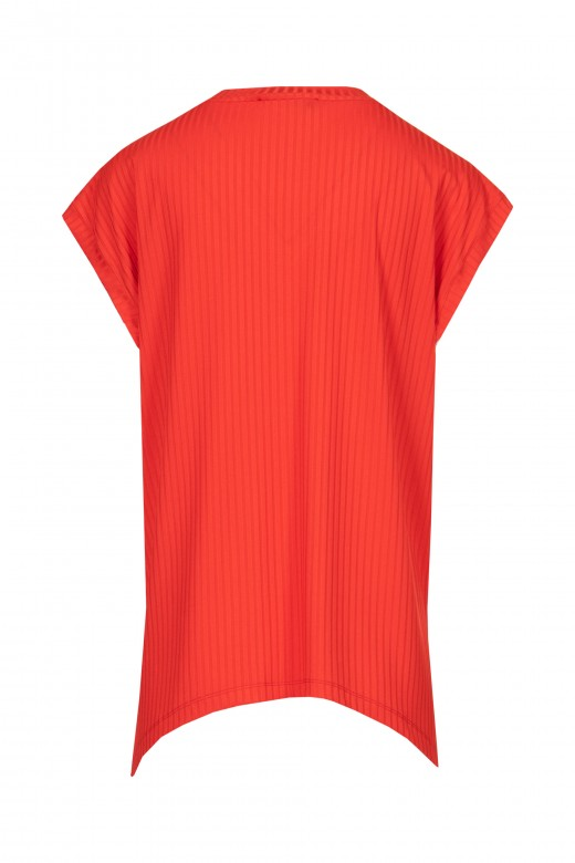 Fluted tunic