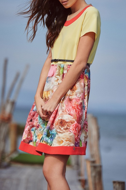 Short godê dress