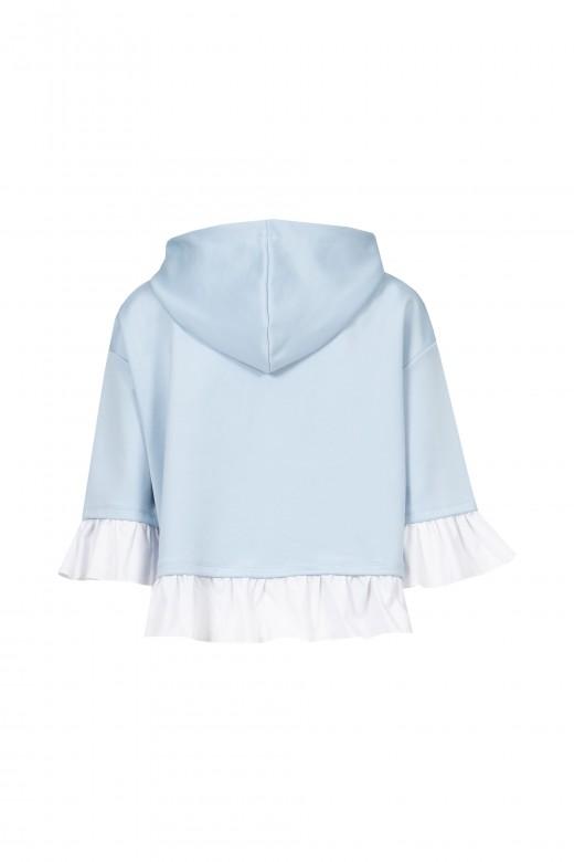 Sweater folho de camisa