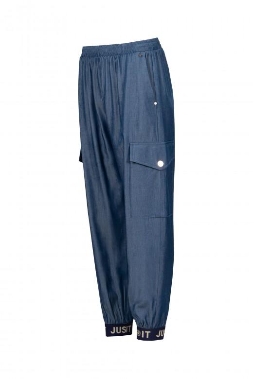 Pantalón cargo fino