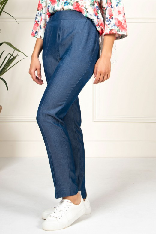 Pantalon in denim fin