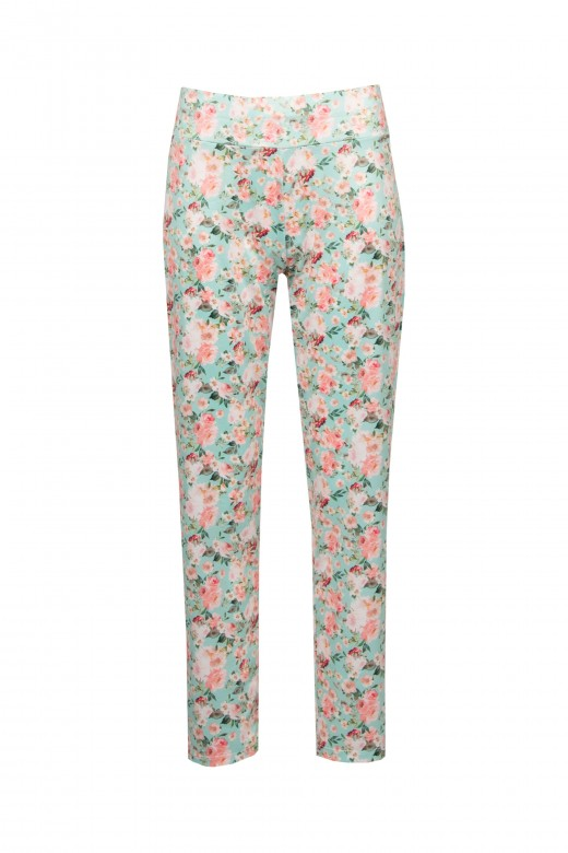 Pantalón de lycra floral