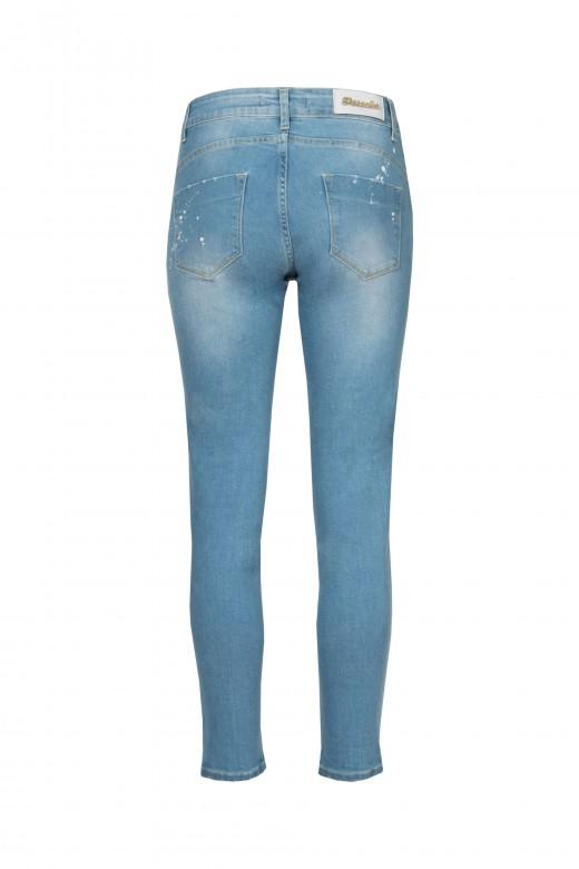 Medium waisted skinny pants