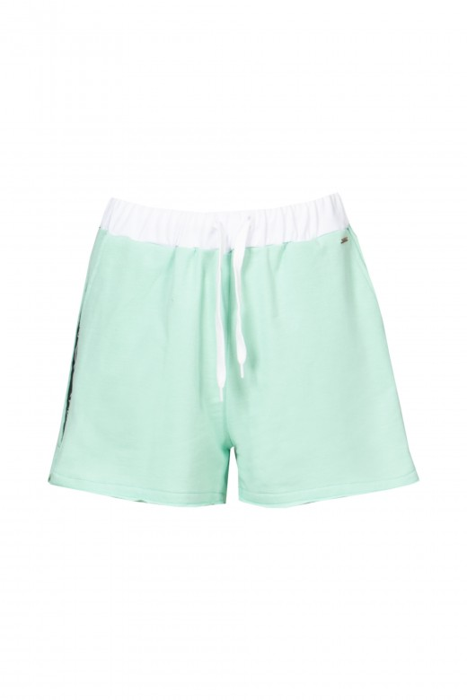 Shorts con logo lateral