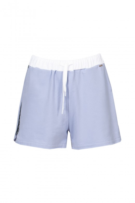 Shorts with side logo