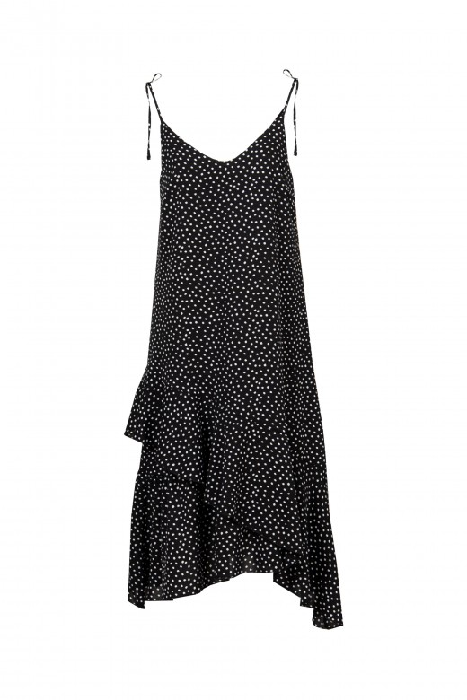 Fluid straps dress