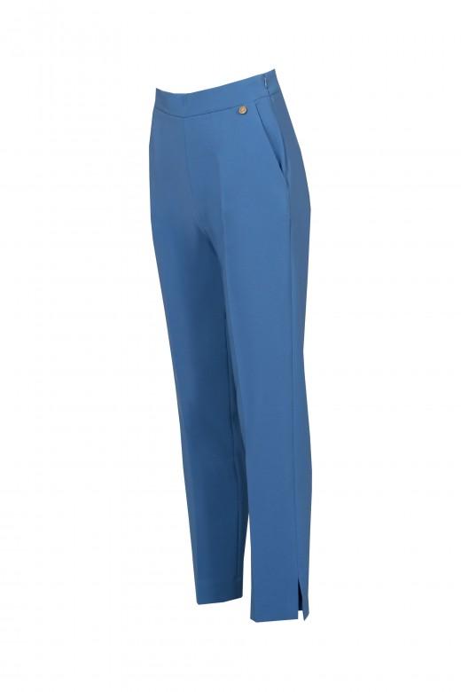 Pantalón clásico de cintura media