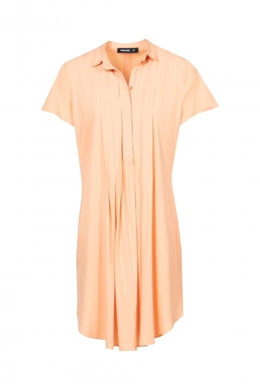 Robe chemiser avec à pinses