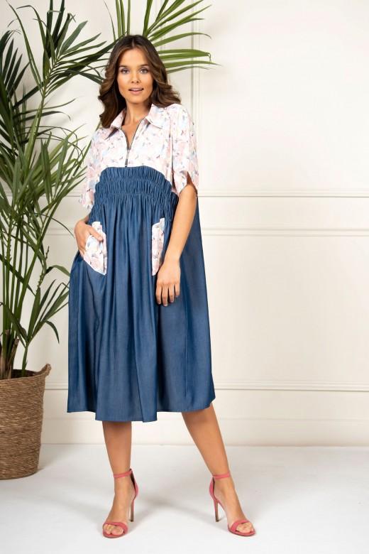 Front zip dress