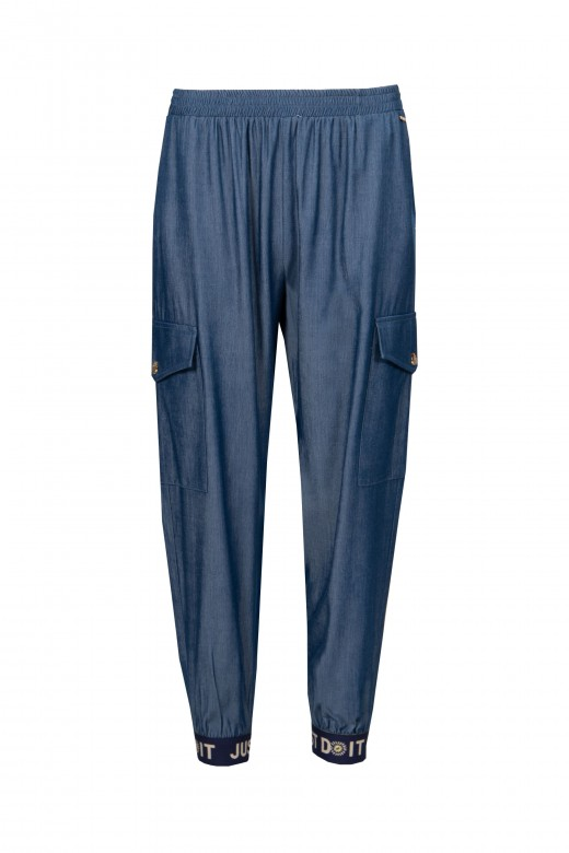 Thin cargo pants