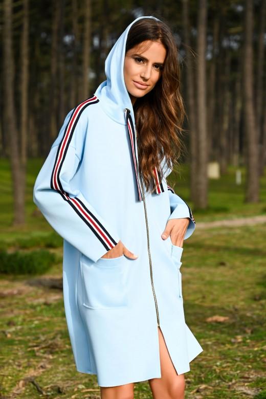 Side stripe jacket
