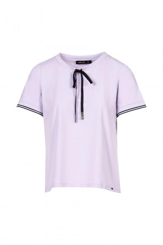 Camiseta con cordón