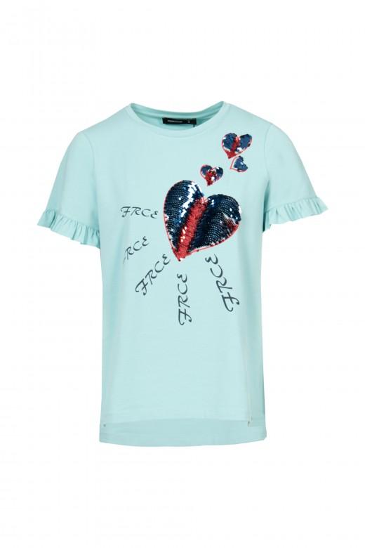 T-shirt coeurs