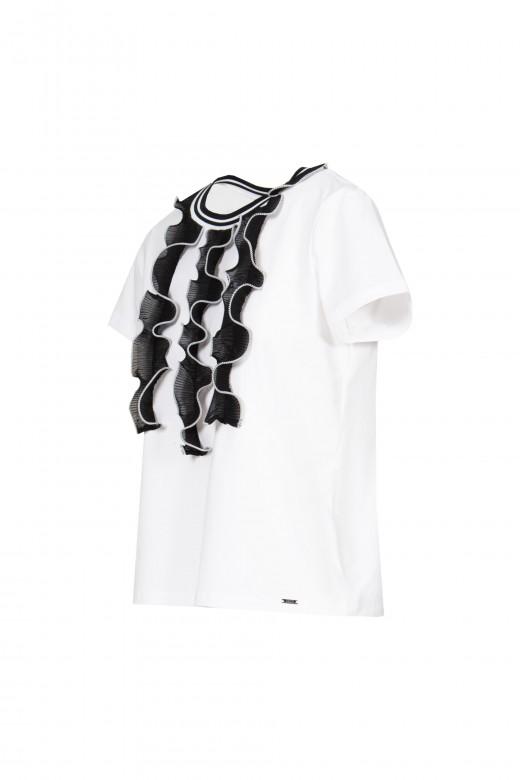 T-shirt folho frontal