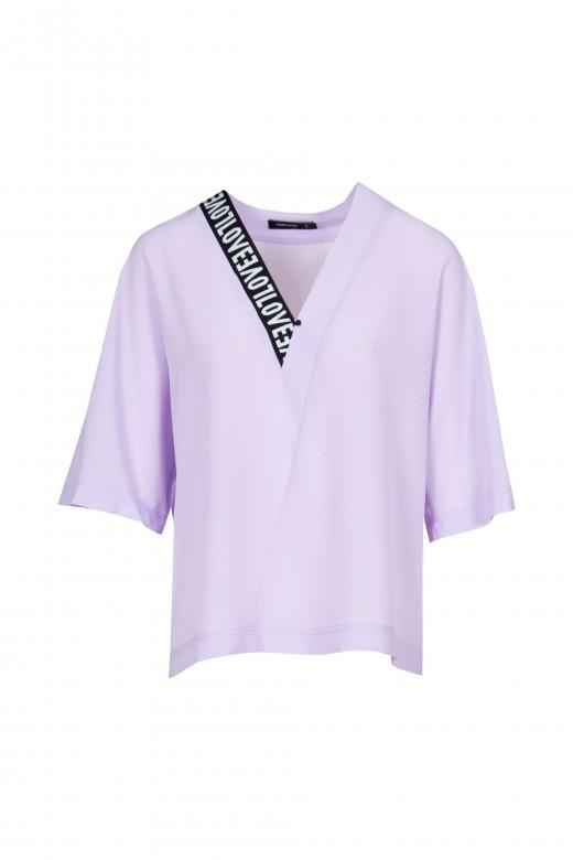Love v-neck blouse