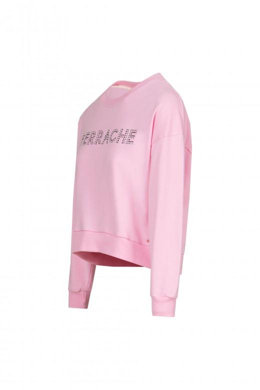Sweater mesh application shine