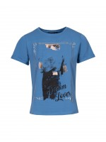 Printed t-shirt denim lover