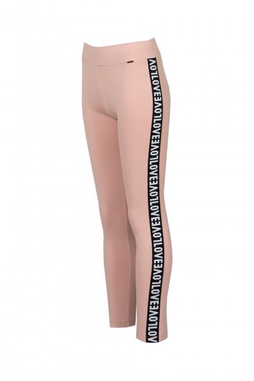Legging faixa lateral love