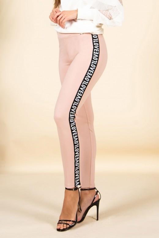 Legging banda lateral love