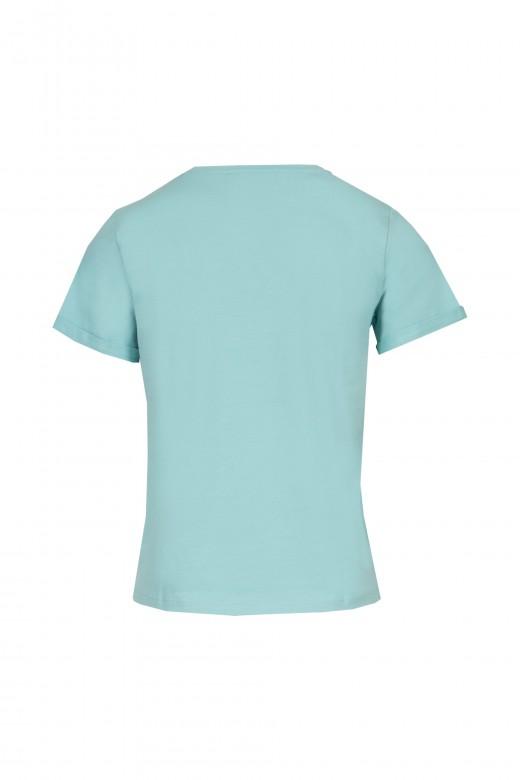 T-shirt estampado denim lover