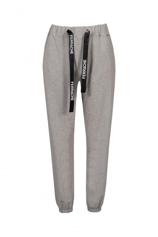 Stretch logo jogging trousers