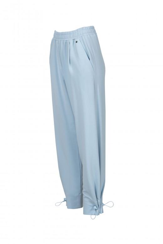 Pantalon de jogging en peluche avec régulateur de jambe