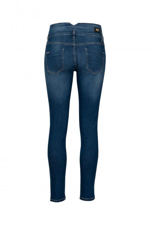 Skinny jeans com botões