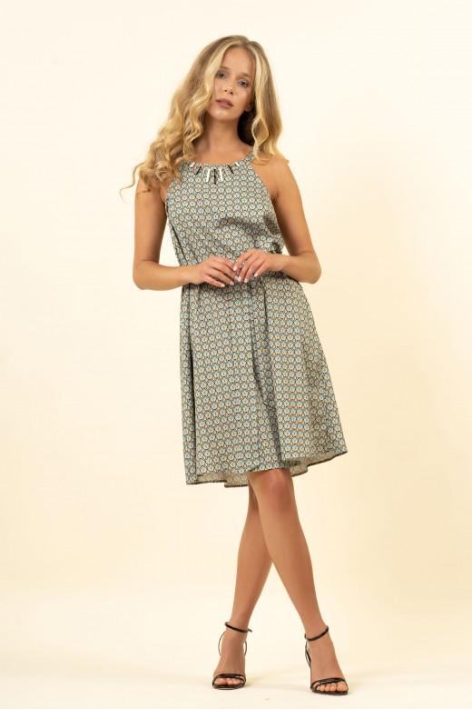 Short fluid dress