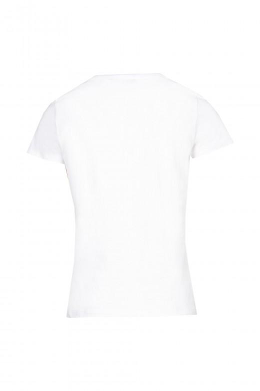 T-shirt com saia em tule