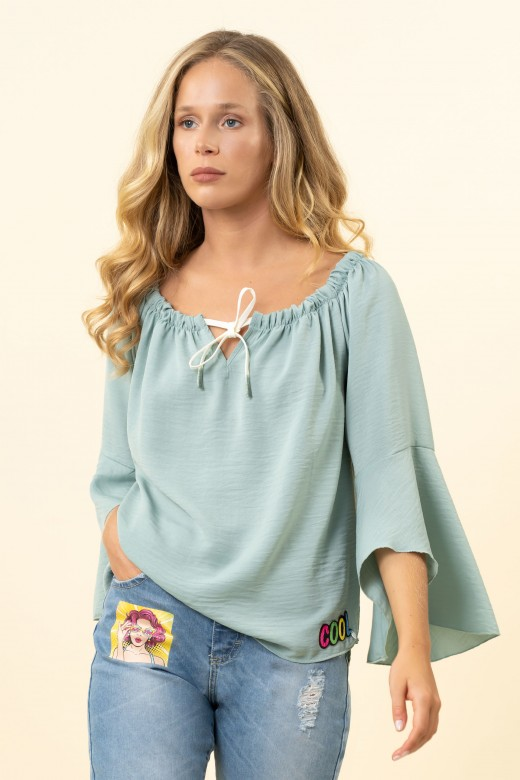 Cool embroidered tunic
