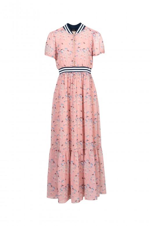Long flowered dress
