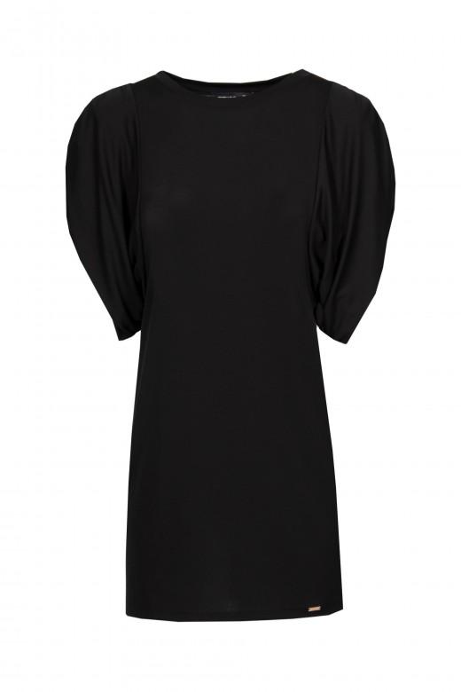 Cold knit dress