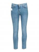 Skinny jeans cintura média