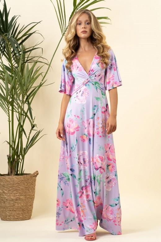 Long knot dress