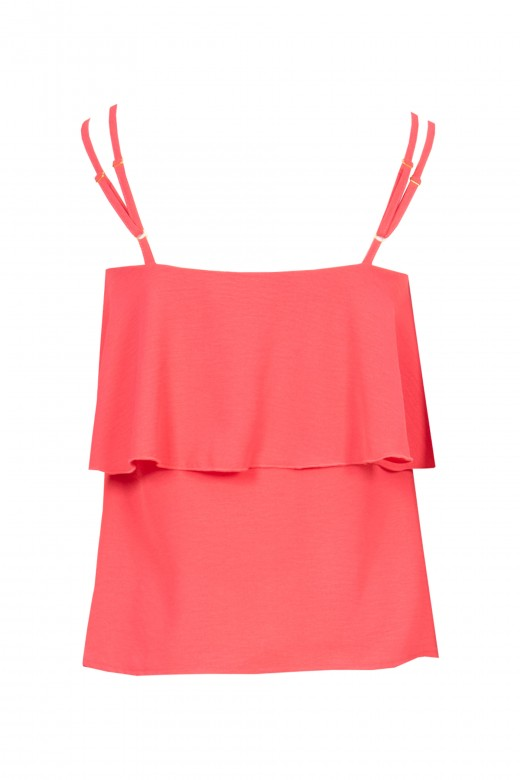 Double strap top