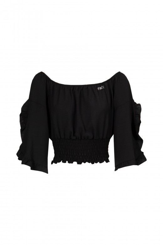 Top with elastic strap