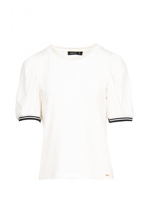 Camiseta de canalé